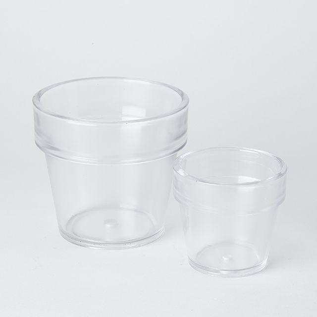 ガラスプランター クリア 3.5号