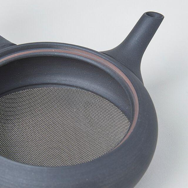 急須 鉄鉢 黒くすべ