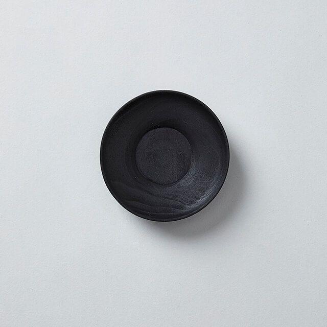南景製陶園 茶托 黒
