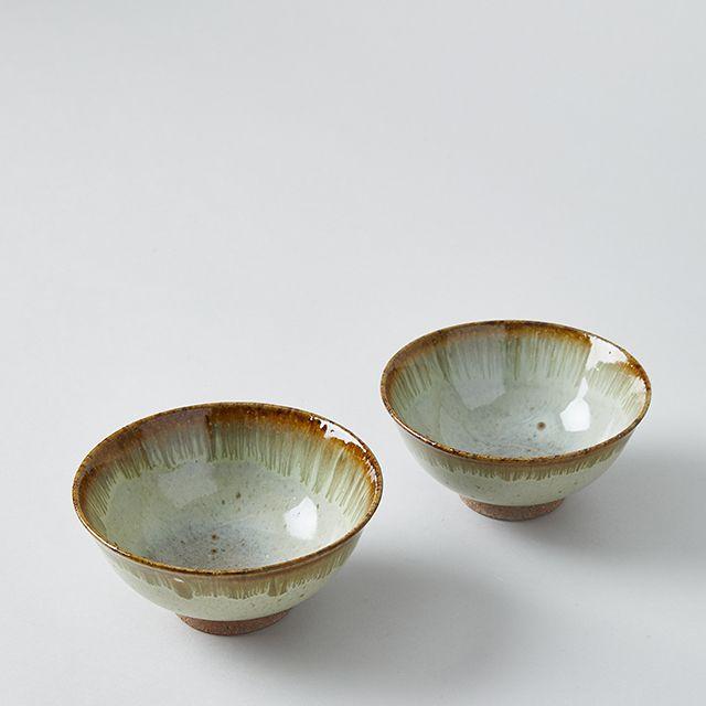 利左エ門窯×TODAY'S SPECIAL 錆流し 茶碗 小