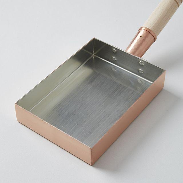 工房アイザワ 玉子焼 銅製フライパン