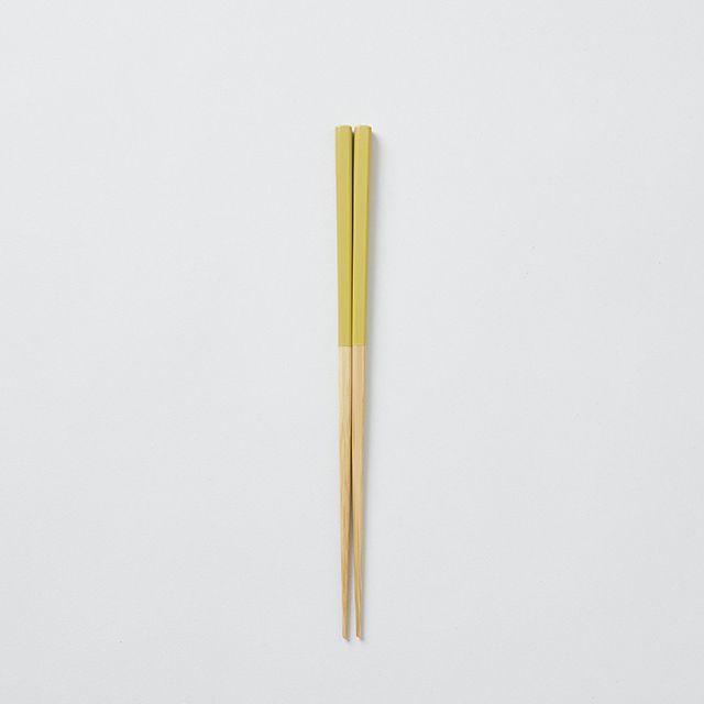 みやこ箸 小 黄色