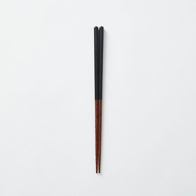 益子箸 黒