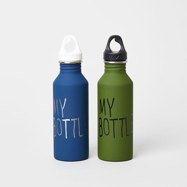 TODAY'S SPECIAL×mizu ボトル ブルー