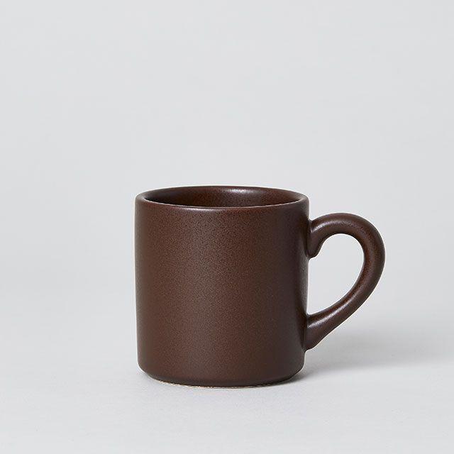 COLORED MUG ブラウン