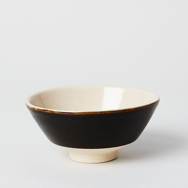 つかもと窯×TODAY'S SPECIAL 飯碗 黒釉
