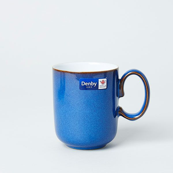 Denby/デンビー ストレートマグ 350ml インペリアルブルー