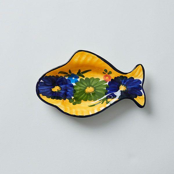 ハエン 魚小皿14.5cm