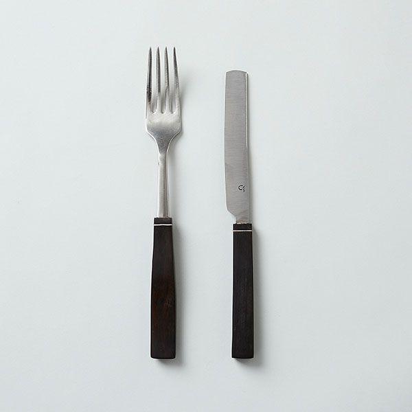 Iberian Manufacture アフリカンブラックウッド テーブルカトラリー ナイフ