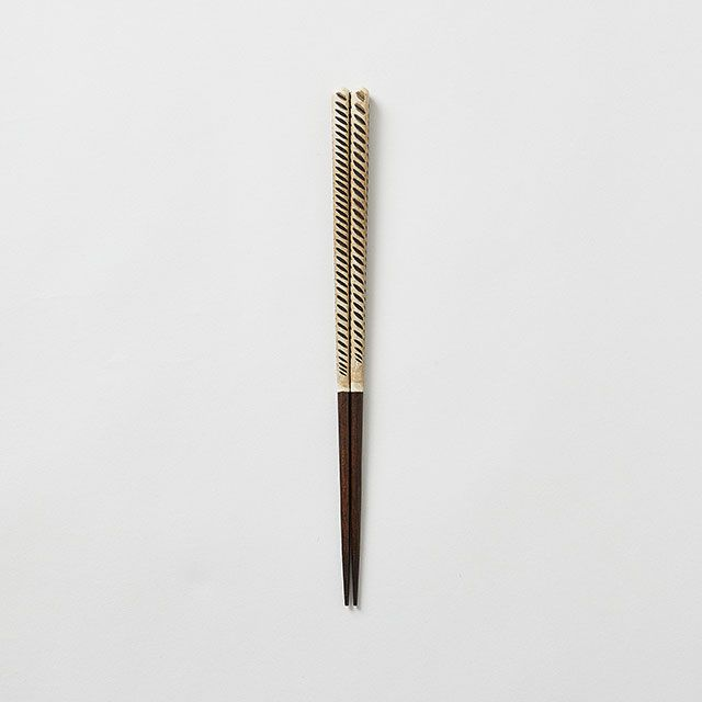 飛びカンナのお箸 23cm
