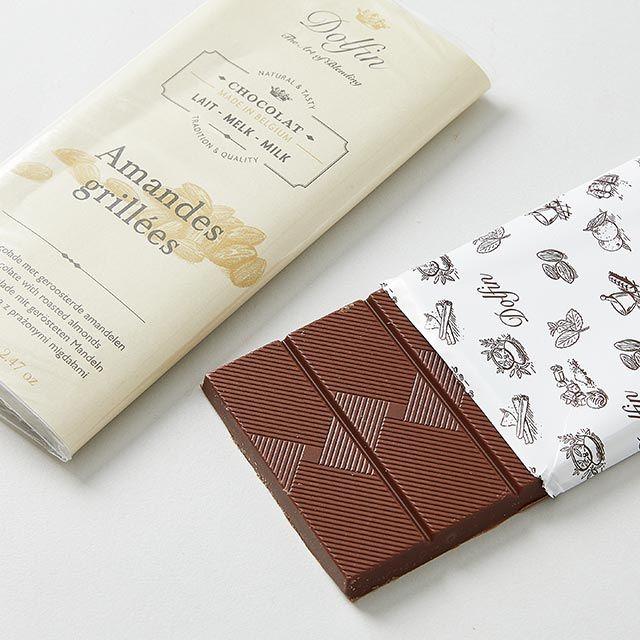 Dolfin/ドルファン チョコレートバー アールグレイ ダークチョコレート