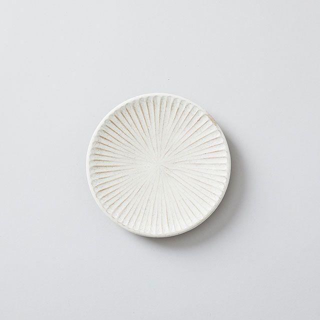 向山窯×TODAY'S SPECIAL SHINOGI PLATE 黒田釉 小