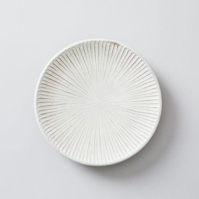 向山窯×TODAY'S SPECIAL SHINOGI PLATE 黒田釉 大
