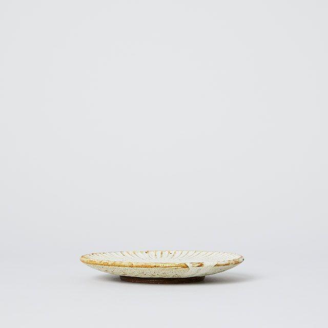 向山窯×TODAY'S SPECIAL SHINOGI PLATE 土灰釉 小