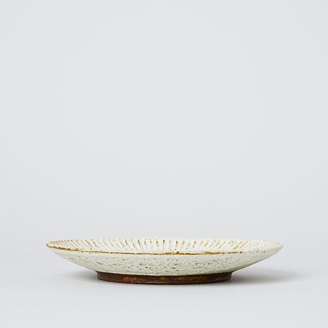 向山窯×TODAY'S SPECIAL SHINOGI PLATE 土灰釉 大