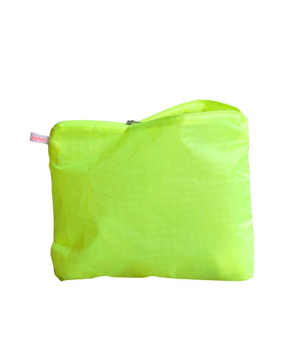 Magic Zipper Pouch / Yellow / L