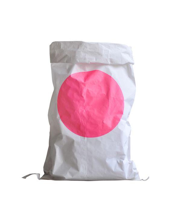 Paper Bag / Pink dot