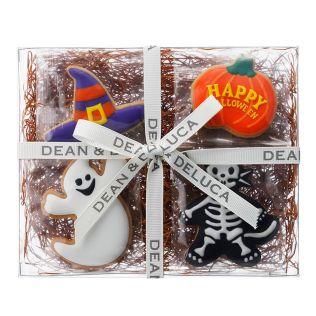 (SALE)DEAN & DELUCA  ハロウィン アイシングクッキーアソート 4pcs