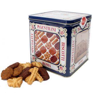 ジェンティリーニ クラシック クッキー缶 1000g