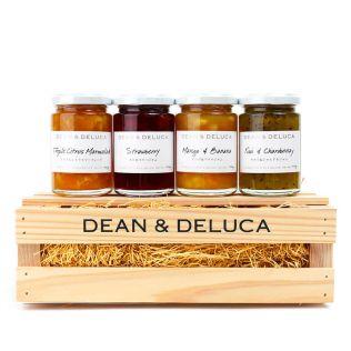 (SALE)DEAN & DELUCA ジャム4種とクレートセット