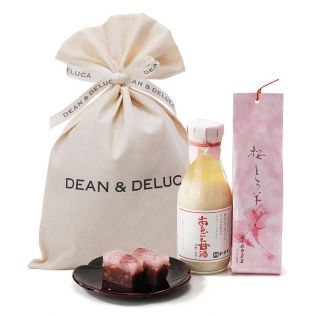 DEAN & DELUCA 桜もち羊羹と甘酒ギフト【賞味期限2020年4月9日】