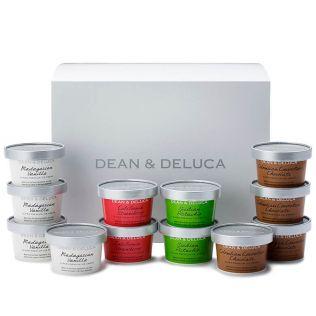 【週末お届け】DEAN & DELUCA  プレミアムアイスクリーム(12個入)