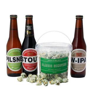 DEAN & DELUCA  サマーポップコーンとクラフトビールのセット
