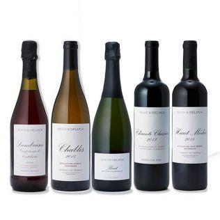【オンラインストア限定】 DEAN & DELUCA オリジナルワイン5本セット