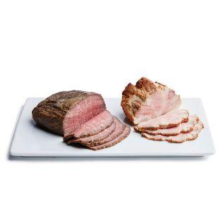 さの萬牛熟成ローストビーフ & 萬幻豚 焼豚