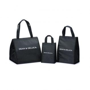 【オンラインストア限定】DEAN & DELUCA クーラーバッグブラックセット