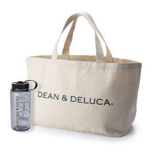 【オンラインストア限定】DEAN & DELUCA  ビッグトートバッグ&トレイルボトルギフト