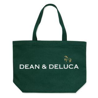 DEAN & DELUCA × PASS THE BATON リメイクトートバッグ ダークグリーン インパラL