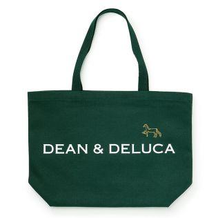 DEAN & DELUCA × PASS THE BATON リメイクトートバッグ ダークグリーン 馬L