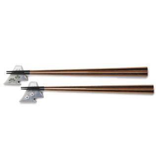 箸と箸置きのセット