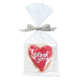 (SALE)DEAN & DELUCA デコラティブクッキー サンキューメッセージ ハート