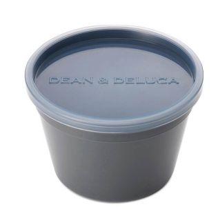 DEAN & DELUCA フードコンテナ チャコールグレーM