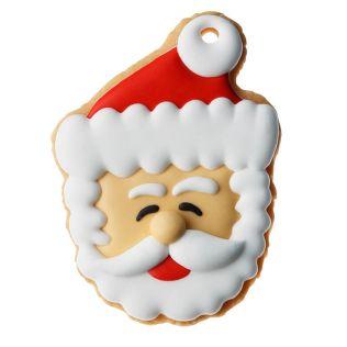 DEAN & DELUCA アイシングクッキー  サンタ顔スマイル