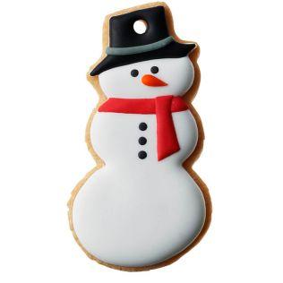 DEAN & DELUCA アイシングクッキー  スノーマン 黒帽子