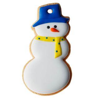 DEAN & DELUCA アイシングクッキー  スノーマン 青帽子