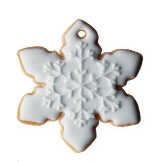 DEAN & DELUCA アイシングクッキー  結晶 ホワイト
