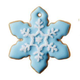 DEAN & DELUCA アイシングクッキー  結晶 ブルー