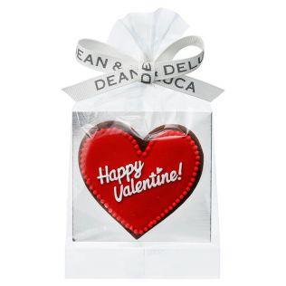 DEAN & DELUCA アイシングクッキー バレンタインハート レッド