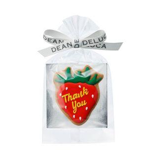 <期間限定_おまとめ価格>DEAN & DELUCA アイシングクッキー サンキュー 苺 36個セット