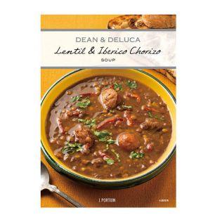 DEAN & DELUCA イベリコソーセージ&レンズ豆のスープ