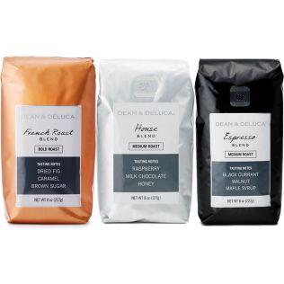 【オンラインストア限定】DEAN & DELUCA コーヒー3種セット(豆)