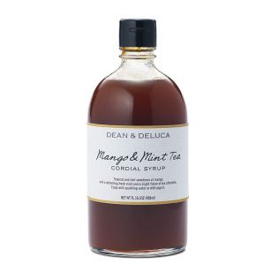 DEAN & DELUCA コーディアルシロップ マンゴー&ミントティーシロップ