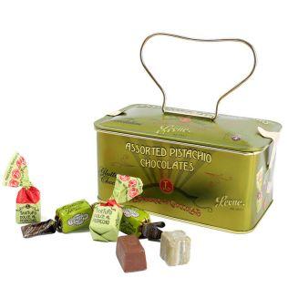 レオーネ ピスタチオチョコレート緑缶 150g