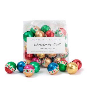 DEAN & DELUCA ホリデーピローバッグ クリスマスボール