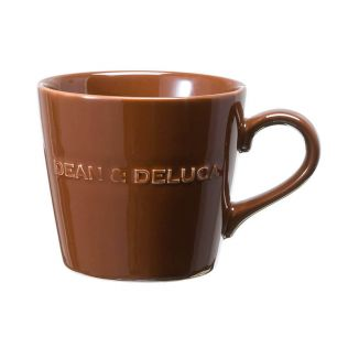 DEAN & DELUCA モーニングマグ チョコレートブラウン