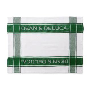 DEAN & DELUCA ティータオル グリーン
